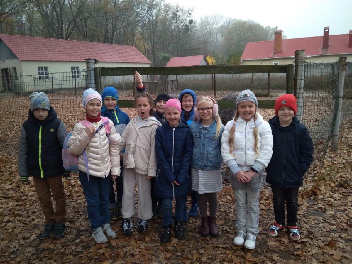 Наші учні на страусовій фермі