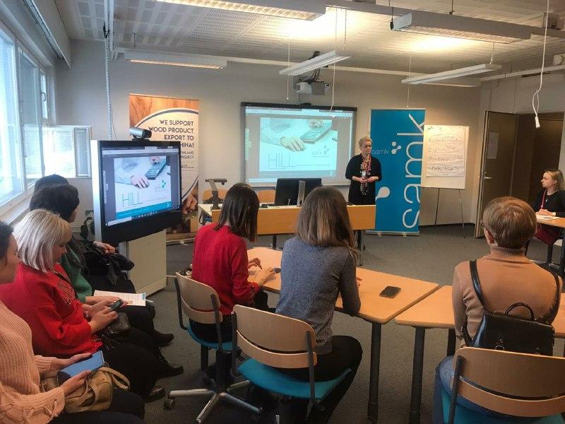Наші вчителі побували на стажуванні у Фінляндії