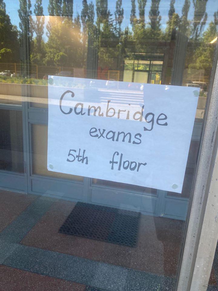 Наші учні здавали Cambridge Exams!