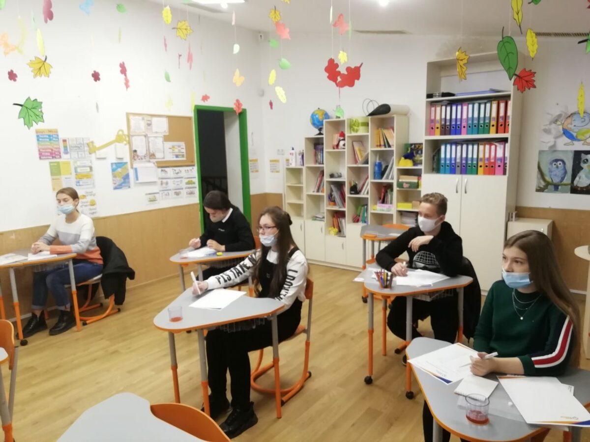 Учні харківських шкіл перевірили знання з англійської у школі «Ранок»